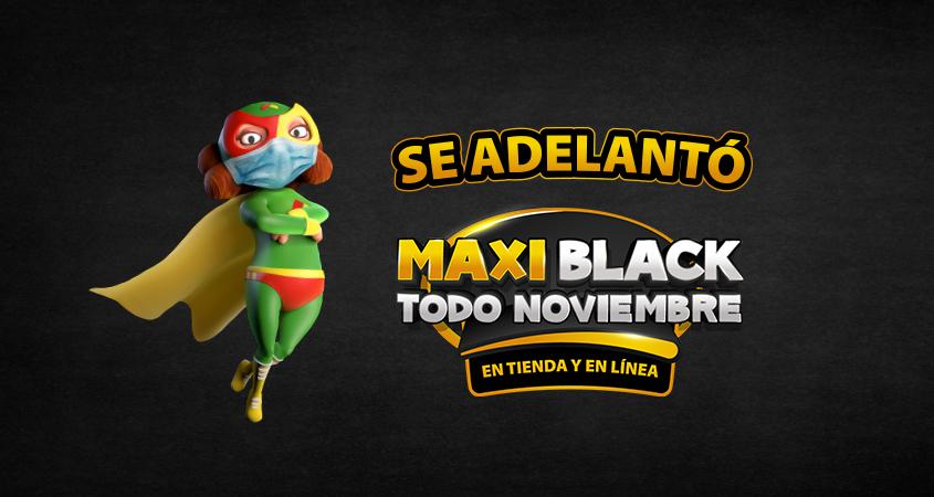 MAXI BLACK